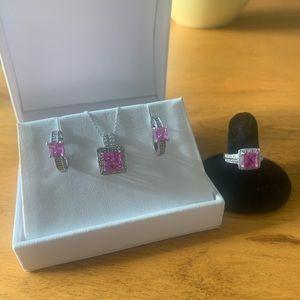 Kay's Pink Sapphire Set